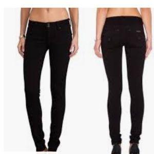 Hudson Collin Skinny Jean, Black, Sz 24